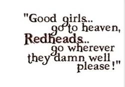 redheadquote