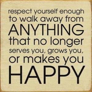 respect happy