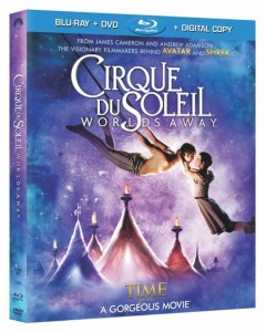 Cirque Du Soleil Worlds Away Blu-Ray & DVD March 12