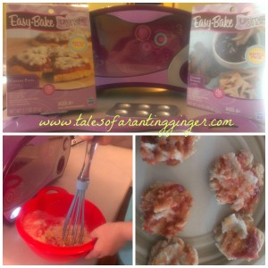 Easy Bake Oven- Little Ones make lunch for Mothers Day