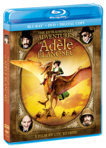 THE Extraordinary Adventures Of ADÈLE BLANC-SEC on Blu-ray Combo Pack & DVD