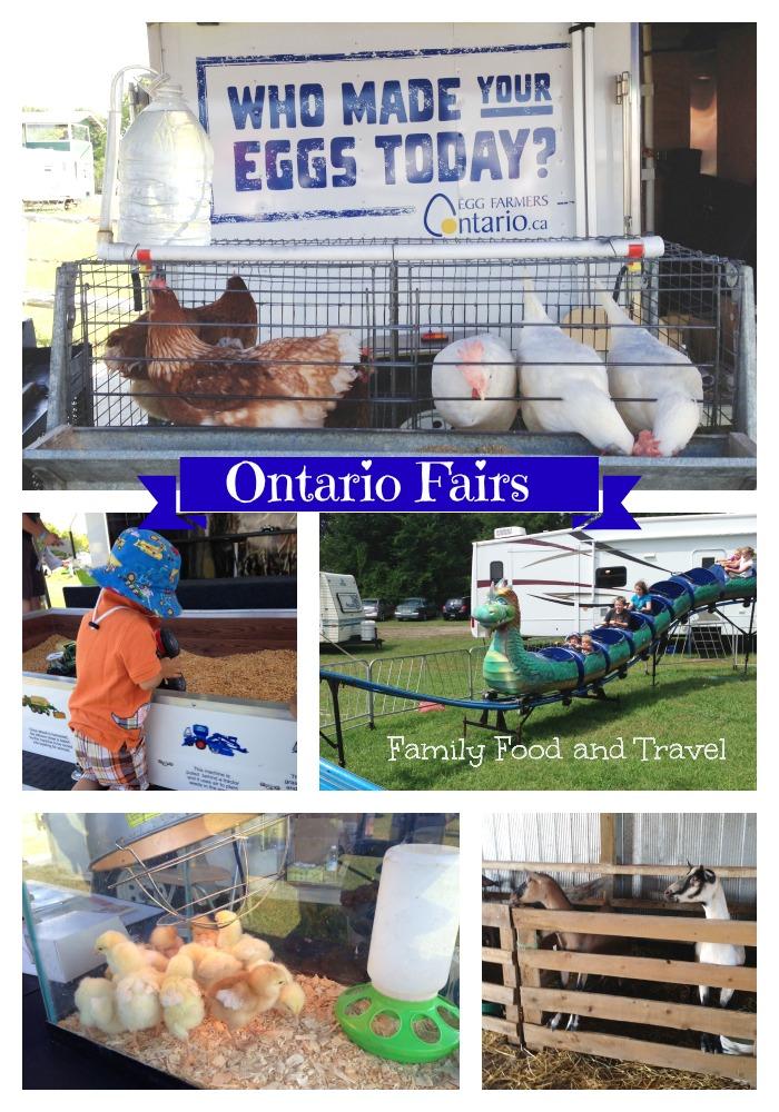 Ontario Fairs Collage