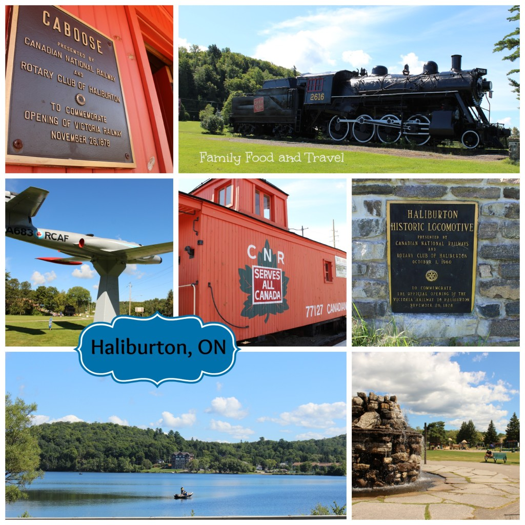 Haliburton Collage