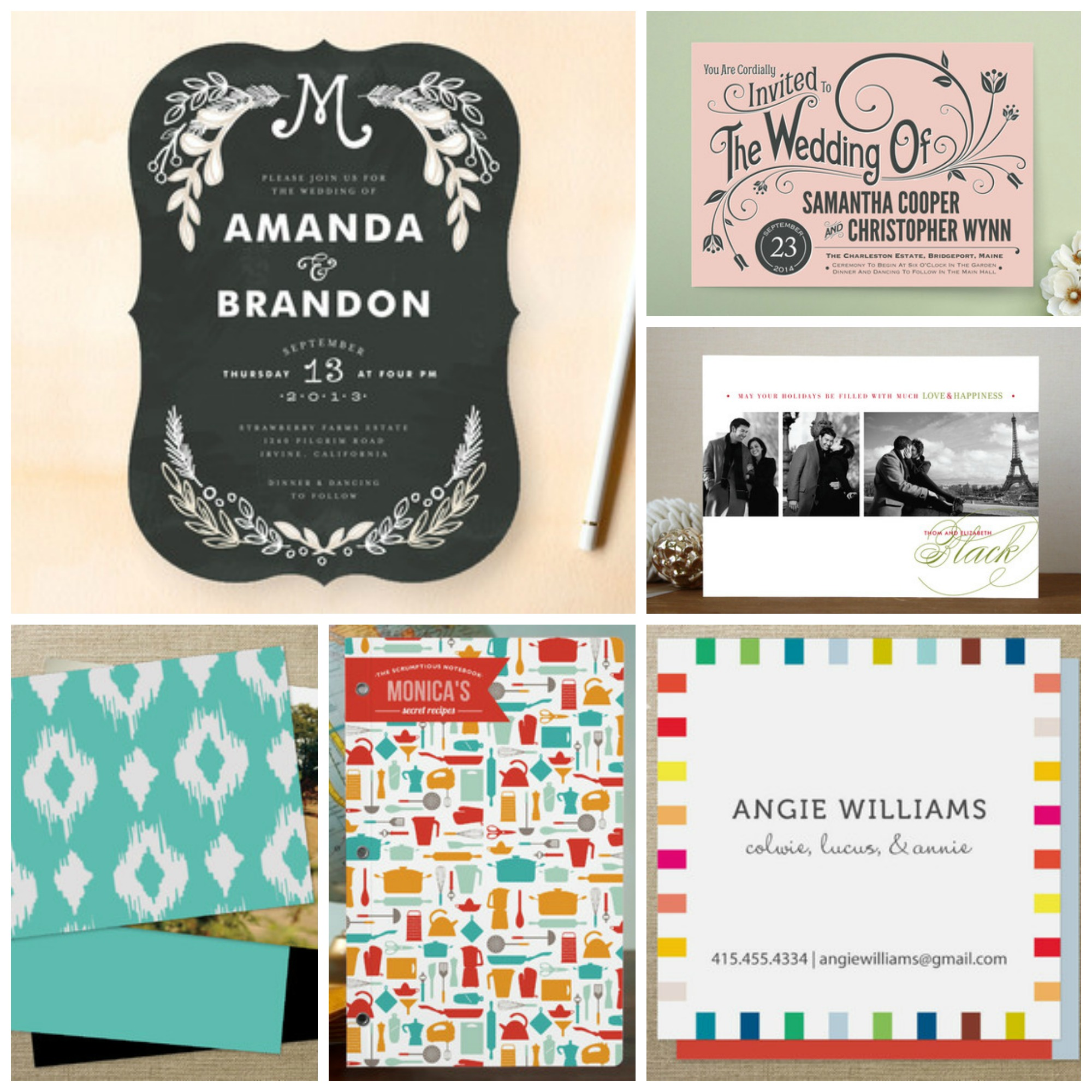 Indie-designed products are now at Minted- Business Cards ...