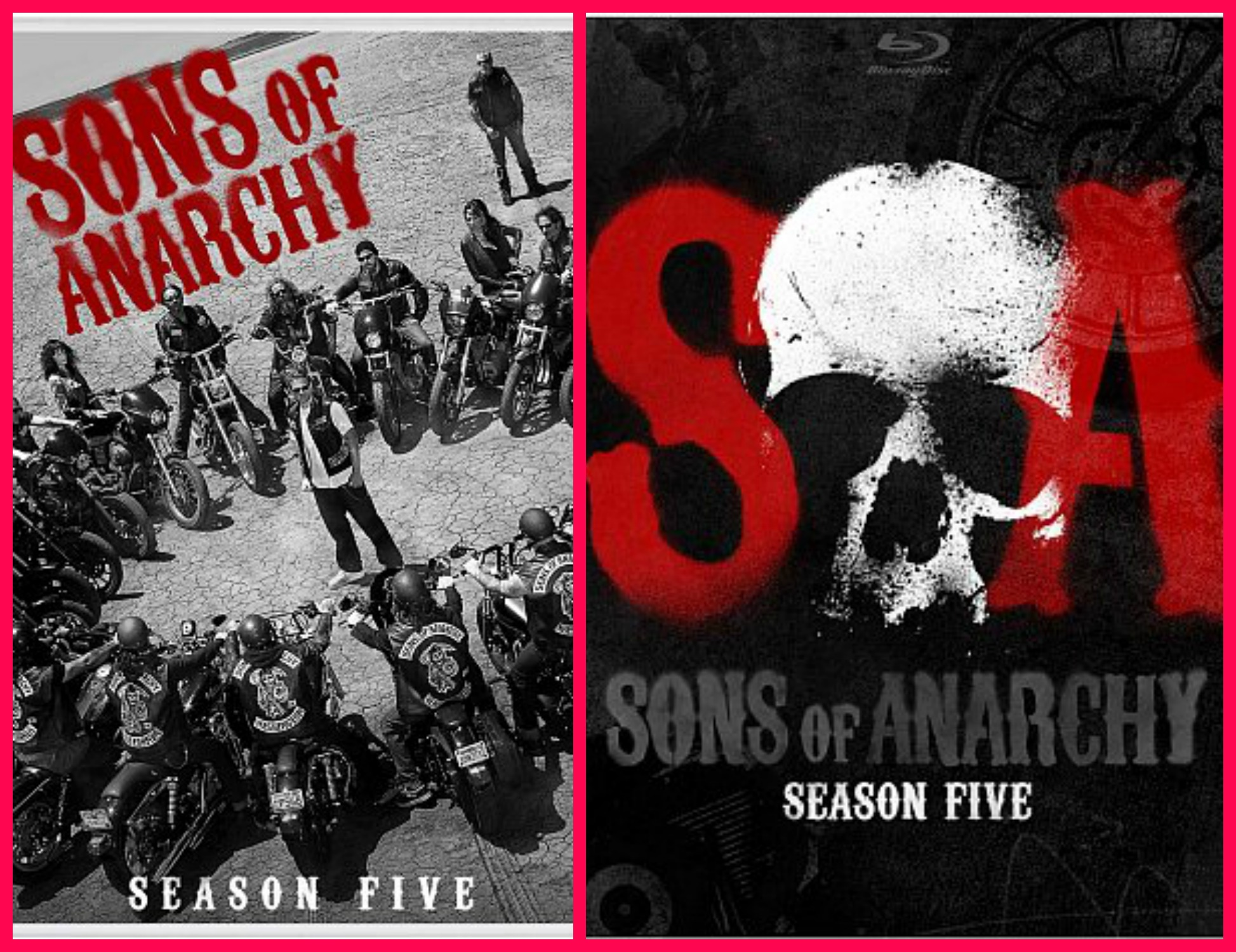 Sons Of Anarchy Season 5 On Blue Ray And Dvd Tales Of A
