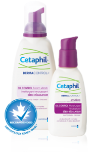 Cetaphil DERMACONTROL the 2013 Product of the Year in 'Facial Care'