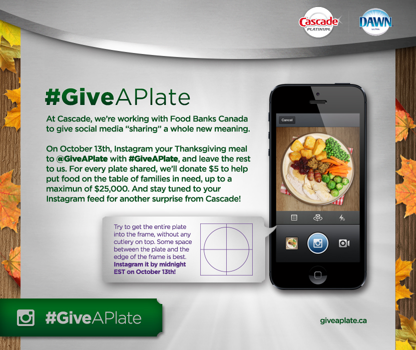 #GiveAPlate