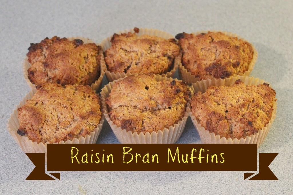 Raisin Bran Muffins Title
