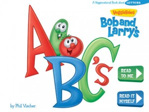 VeggieTales Bob and Larry's ABC's App