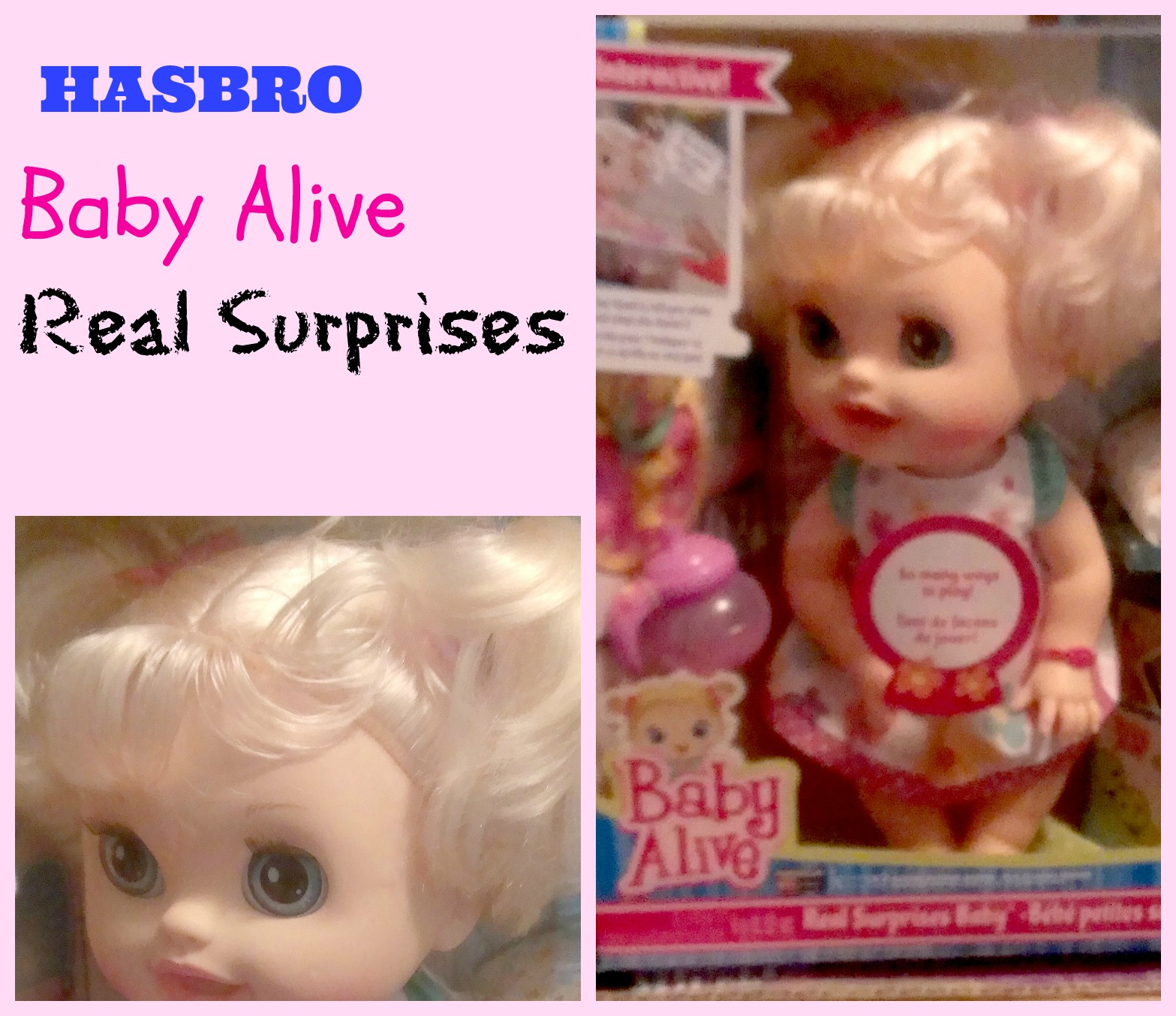 Fun With Baby Alive Different Food Packets To Make