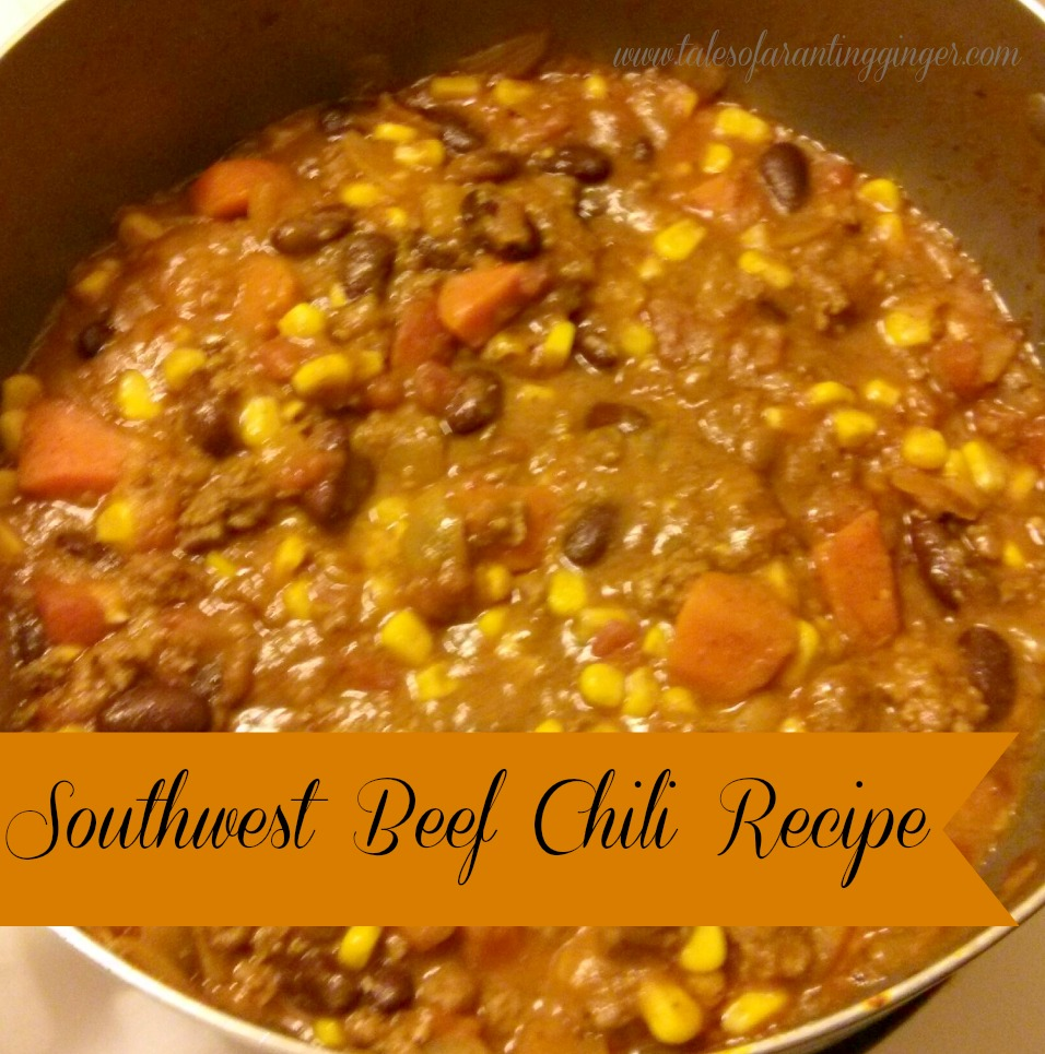 southwest beef chili