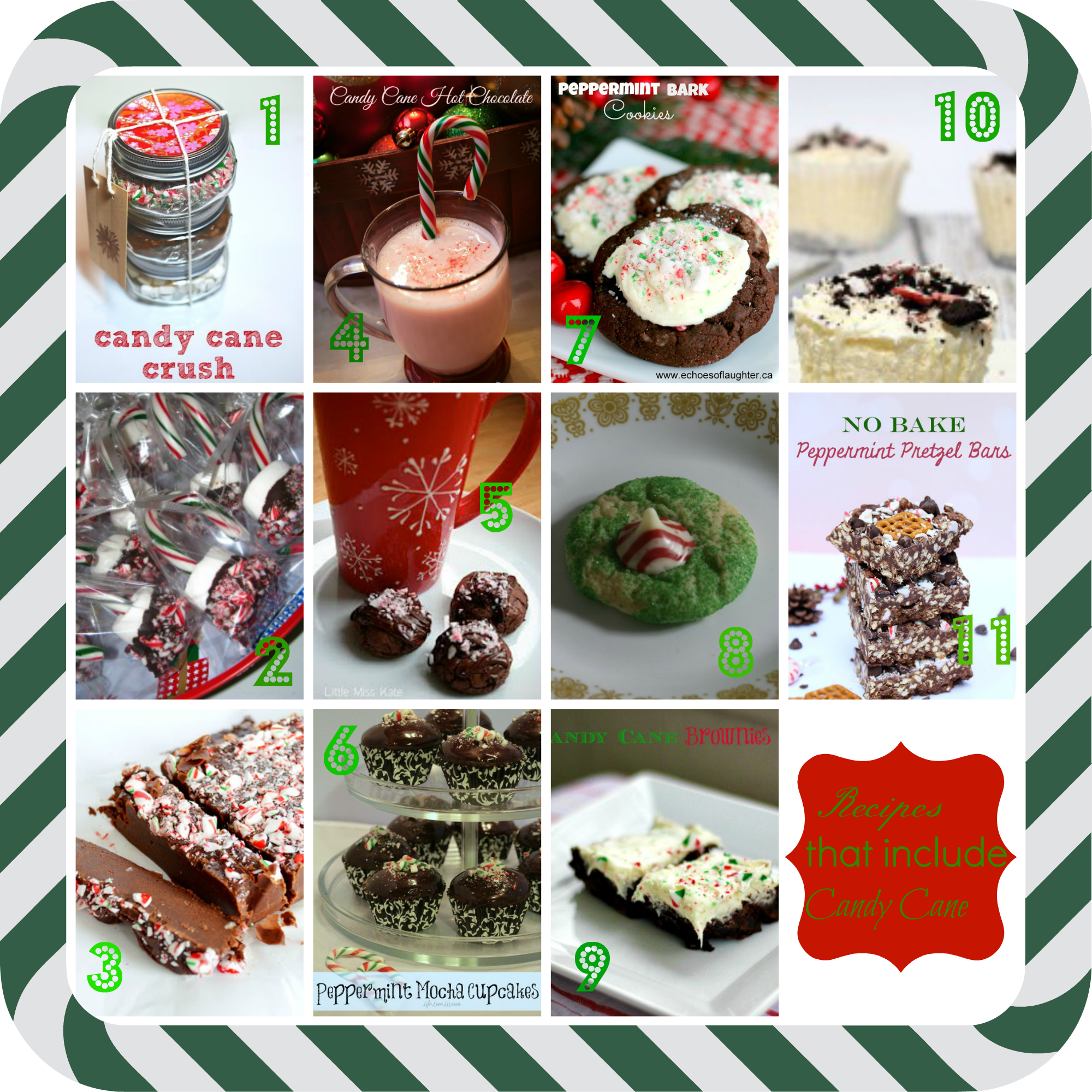 Candy Cane Recipes