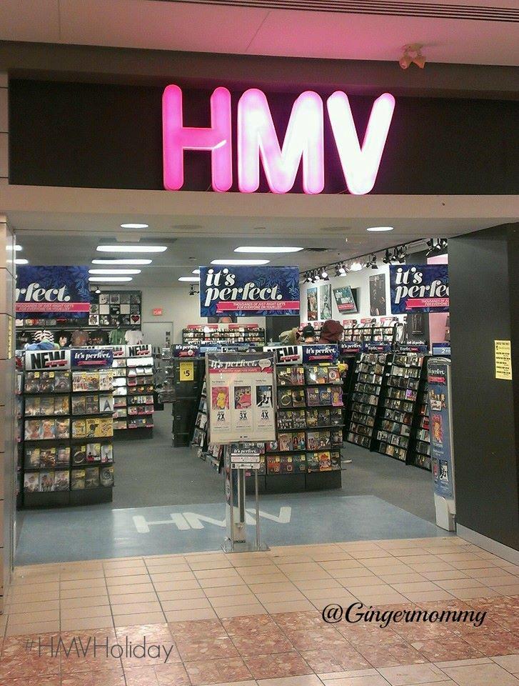 HMV entrance