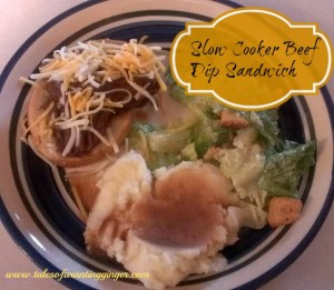 Slow Cooker Beef Dip Recipe