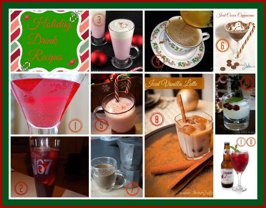 holiday drink recipe round up