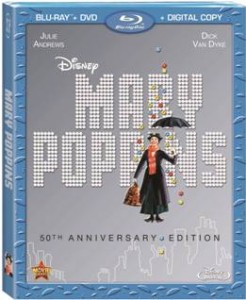 MARY POPPINS: 50th ANNIVERSARY EDITION  Available on Blu-ray Combo Pack December 10th