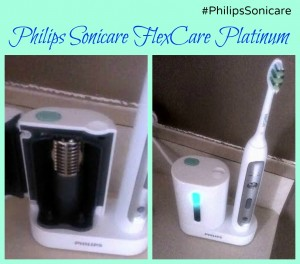 #PhilipsSonicare Getting that holiday sparkle with Philips Sonicare FlexCare Platinum