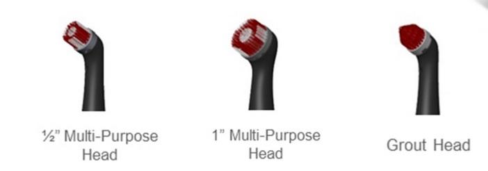 rubbermaid heads