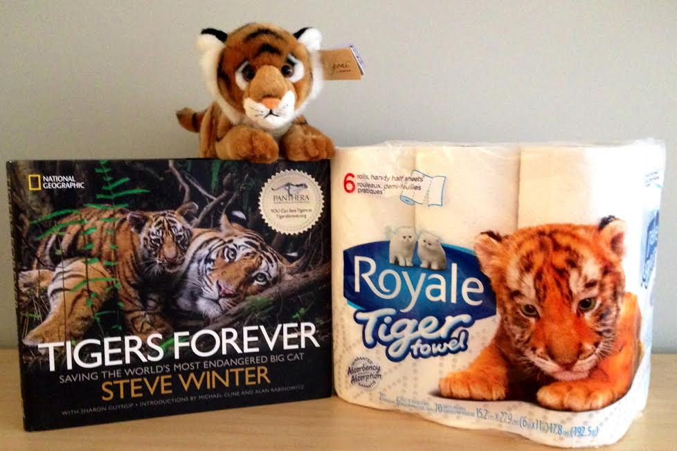 tiger towel prize pack