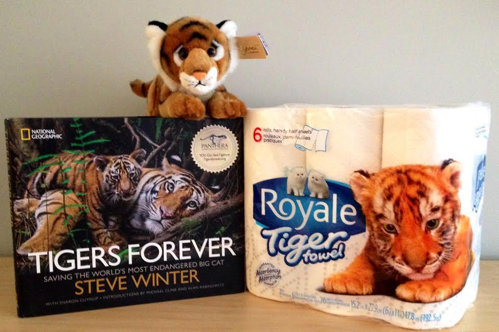 tiger towel prize pack