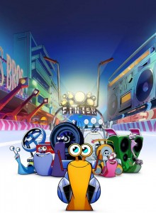 Netflix and DreamWorks Animation present Turbo FAST!