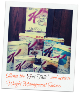 Silence the 'Fat Talk ' & achieve Weight Management Success #SpecialKCanada