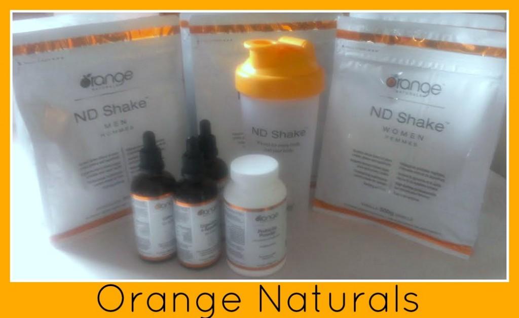 orange naturals pack