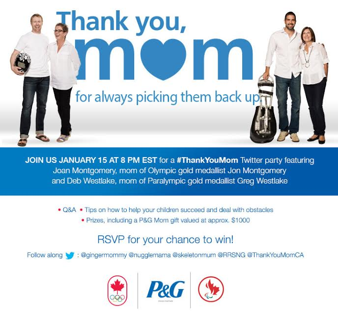 thank you mom twitter party