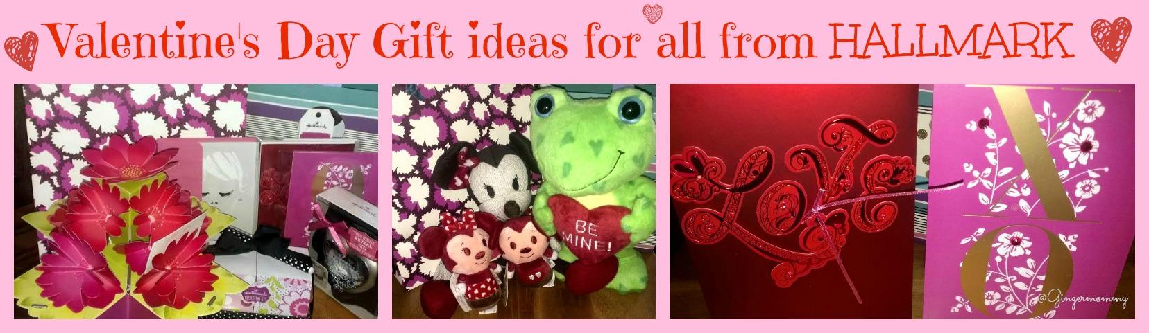 Hallmark Valentine's gifts