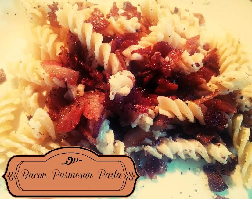 Bacon Parmesan pasta