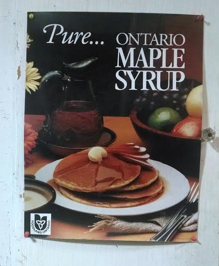Ontario maple syrup
