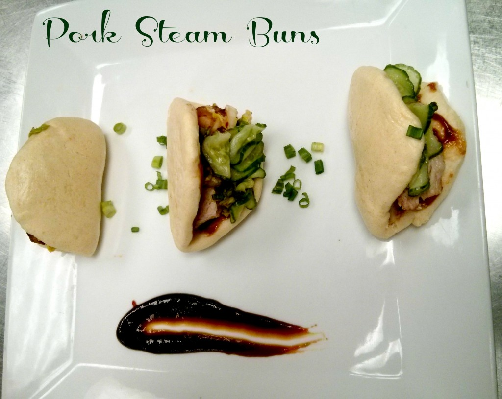 Pork steam buns