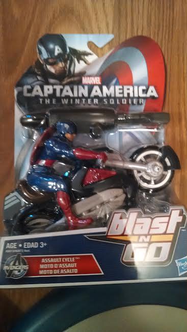 captain america up close