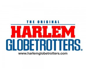 "Hanging out at the Harlem Globetrotters ""Fans Rule"" game #ptpaGlobies"