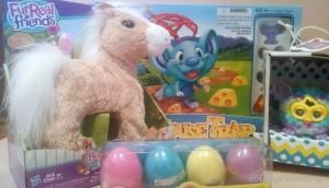 Fun Easter Basket ideas from Hasbro Canada
