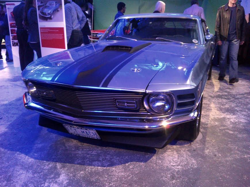 mustang old