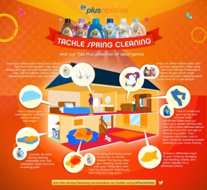 Spring Cleaning with TIDE & a chance to give back #Plusabilities