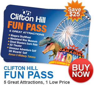 Clifton Hill Niagara Falls- Great fun for all! With Giveaway