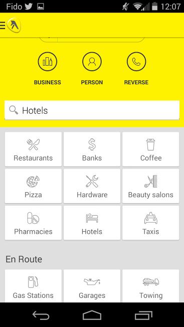 screen shot hotel