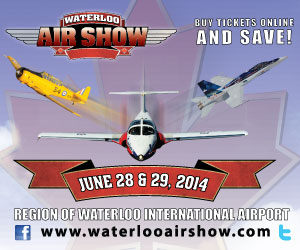 waterloo air show