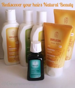 Rediscover your hairs natural beauty with WELEDA Review & Giveaway #weledahairdare