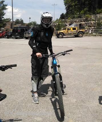 HS biking