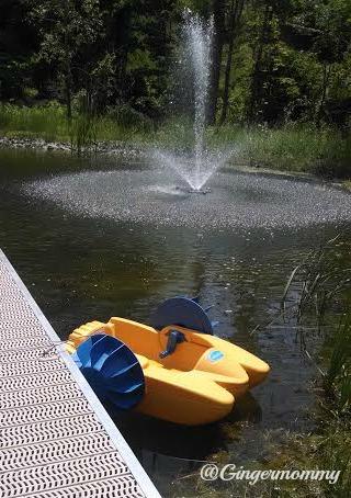 HS paddleboat