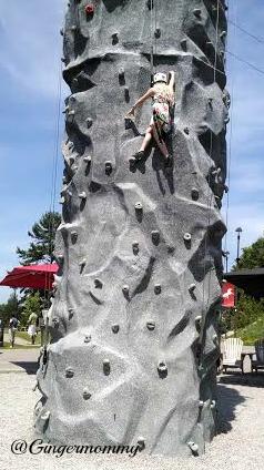 HS rock climbing