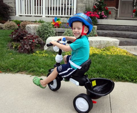 SmarTrike Touch Steering CHIC 4-in-1 Tricycle | Tales of a