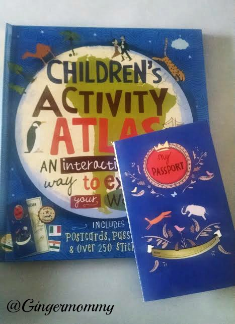 childrens activity atlas