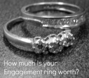 How much is your Engagement ring worth?