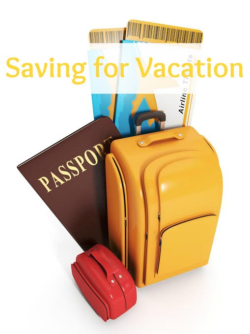 saving for a vacation