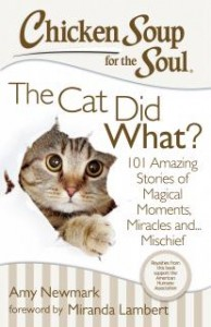 Chicken Soup for the Soul The Cat Did What?  Giveaway US/CAN