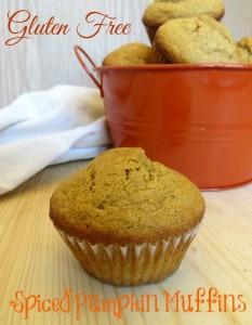 Yummy Gluten Free Spiced Pumpkin Muffins